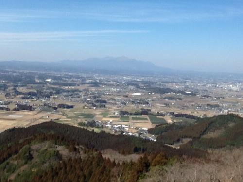 金御岳からの都城盆地