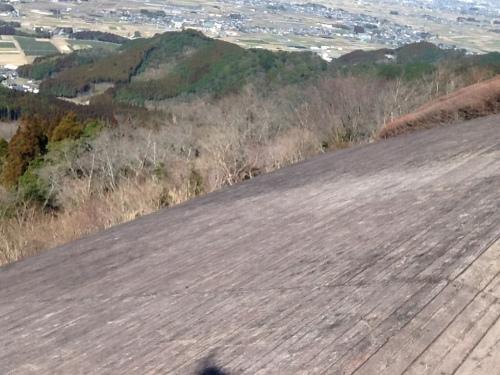 ハンググライダーの滑走路